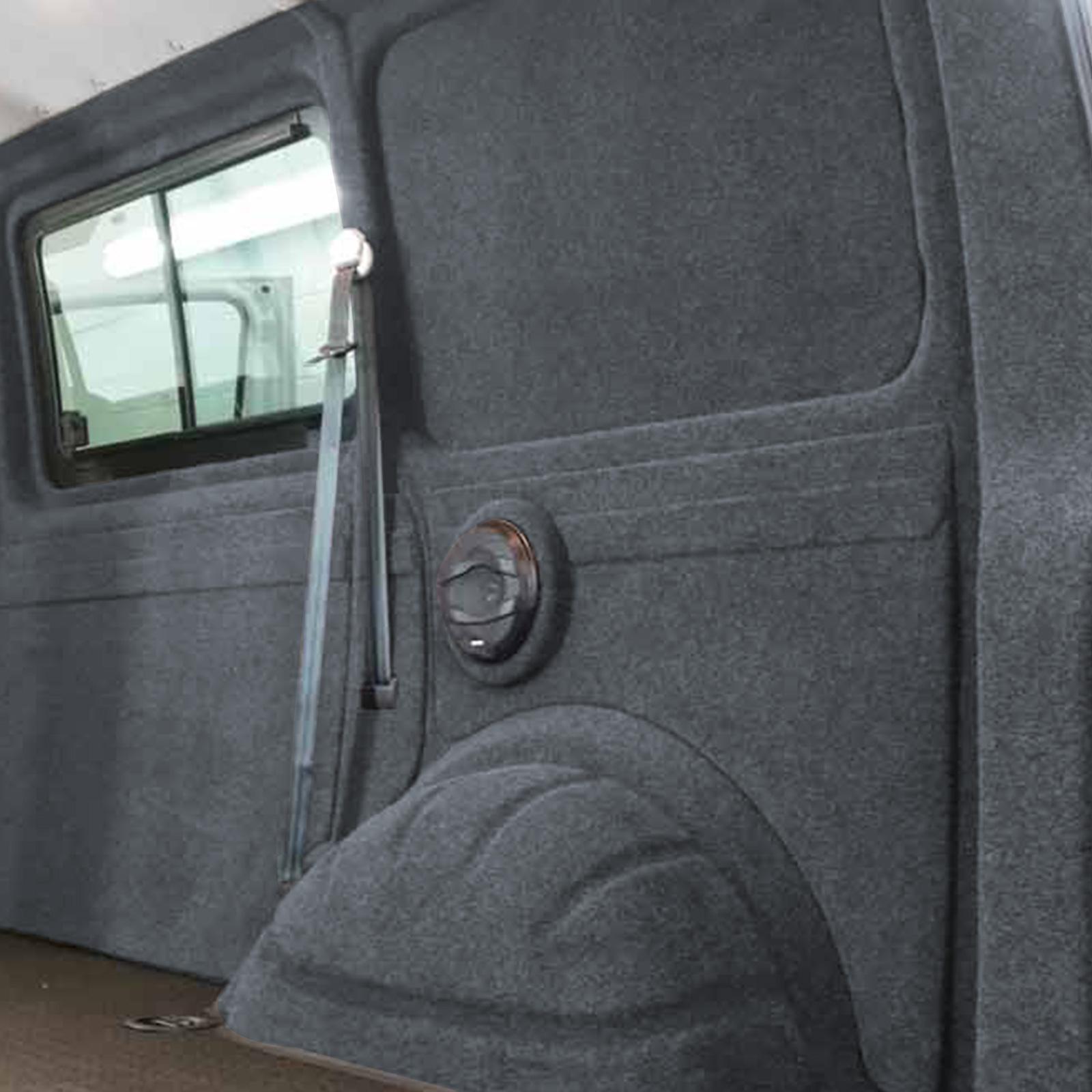 X-Trem Stretch-Carpet-Filz Dunkelgrau (5x2m)