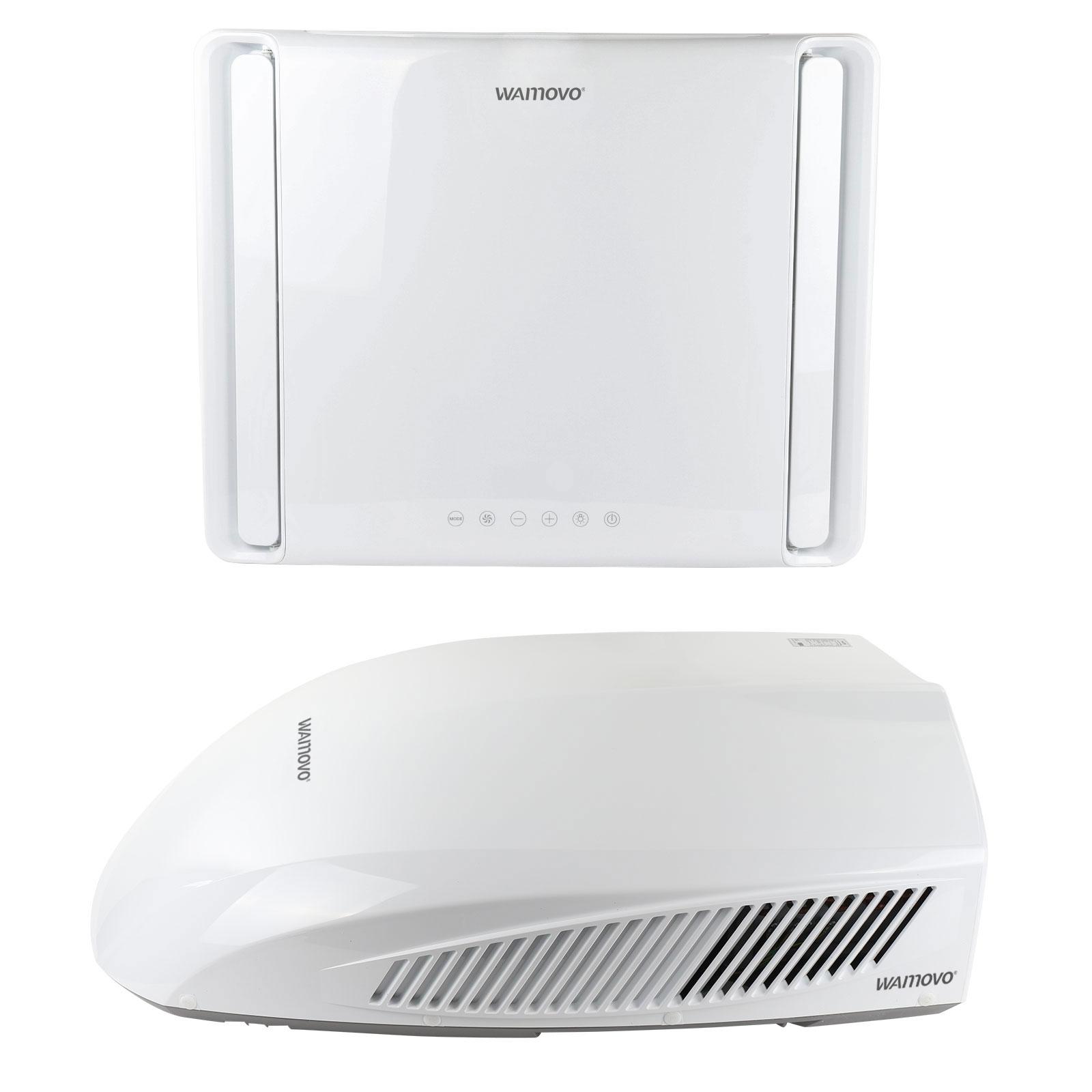 Wamovo Klimaanlage 2500W Dachklimaanlage 40x40 Softstart Turbocool