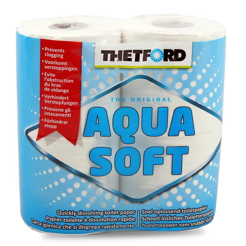 Thetford Aqua Soft Toilettenpapier speziell für Campingtoiletten