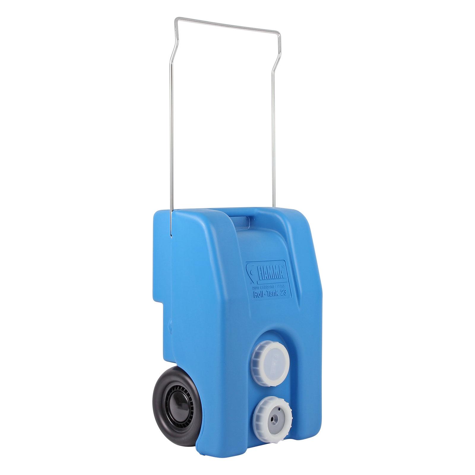 Fiamma Frischwasser Rolltank 23 Liter blau rollbar