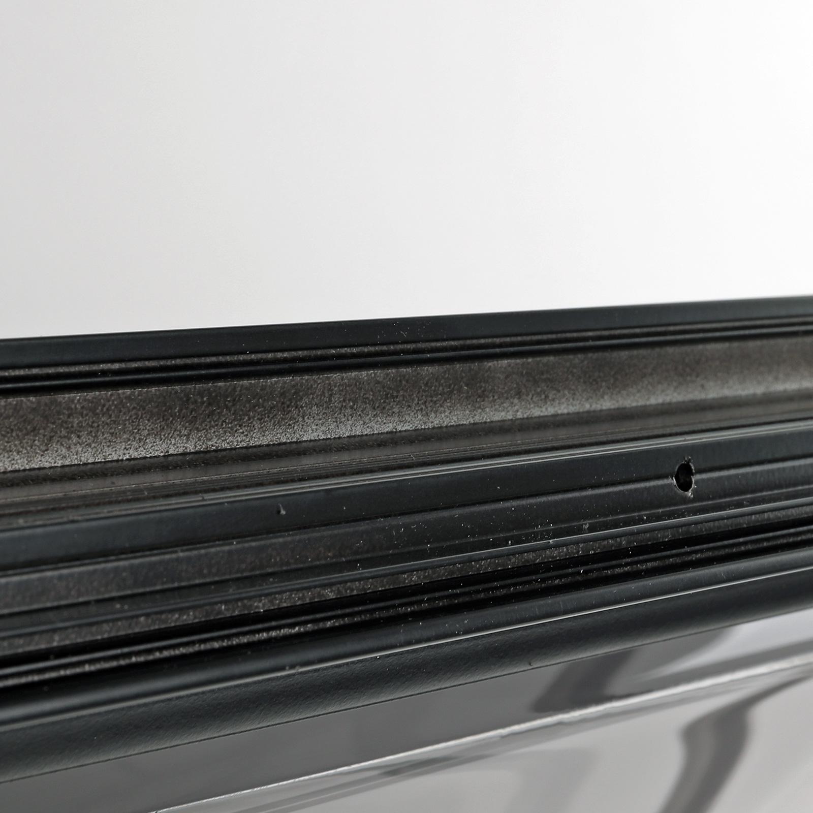 Ausstellfenster für gewölbte Wände, 900x400 inkl. Plissee und Dichtmasse