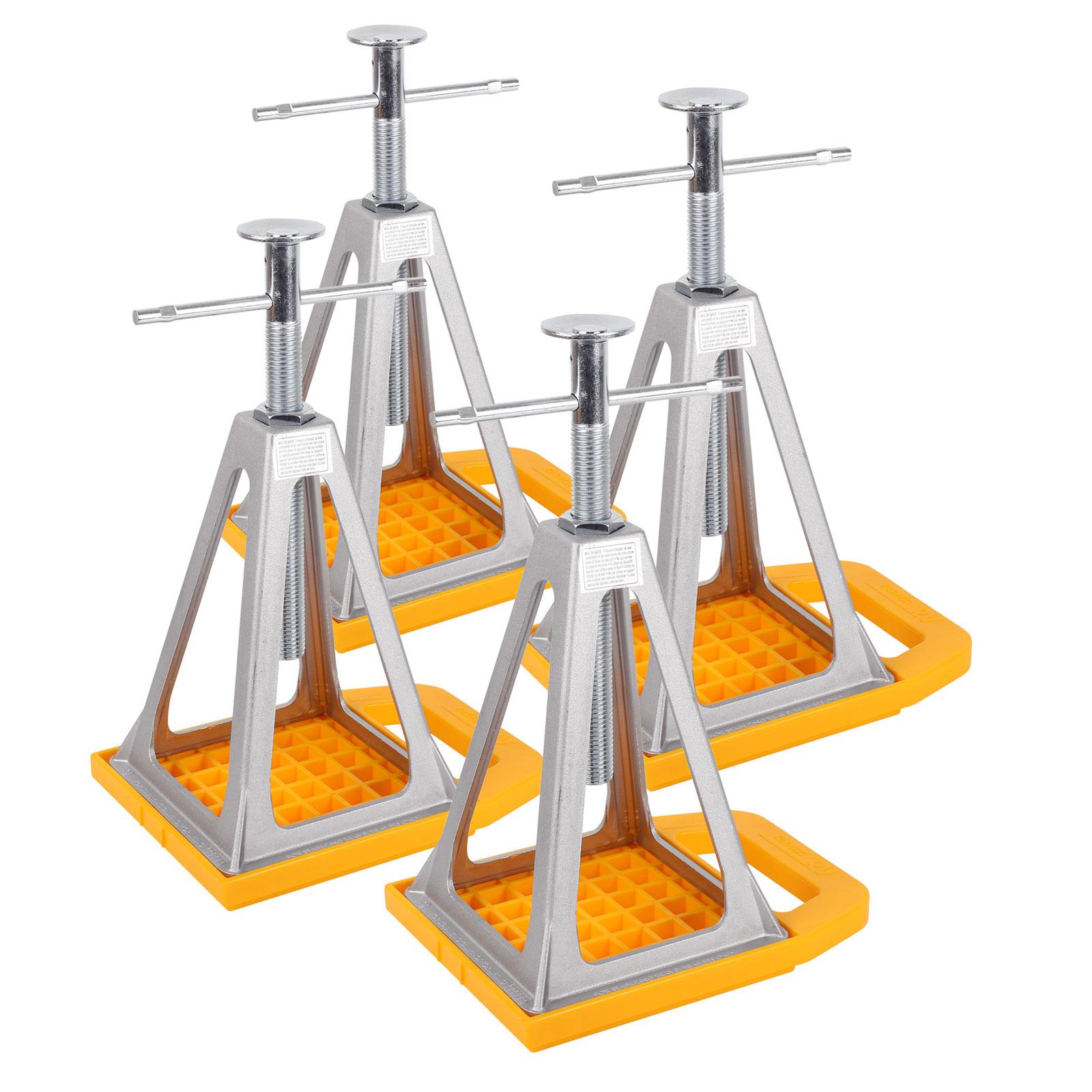 Camco Set - 4x Stückböcke und Unterlegplatten