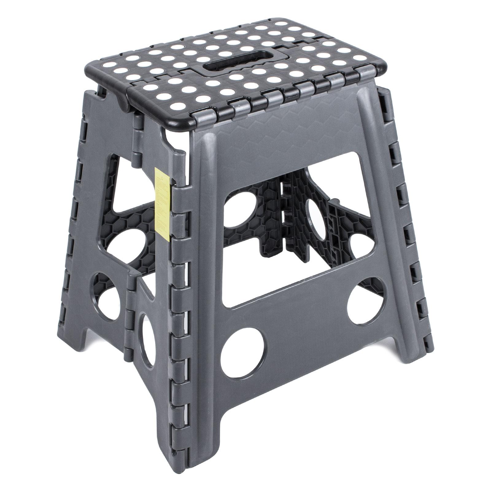 Trittstufe Kunststoff klappbar Anti Rutsch 39 cm Höhe 120 Kg belastbar