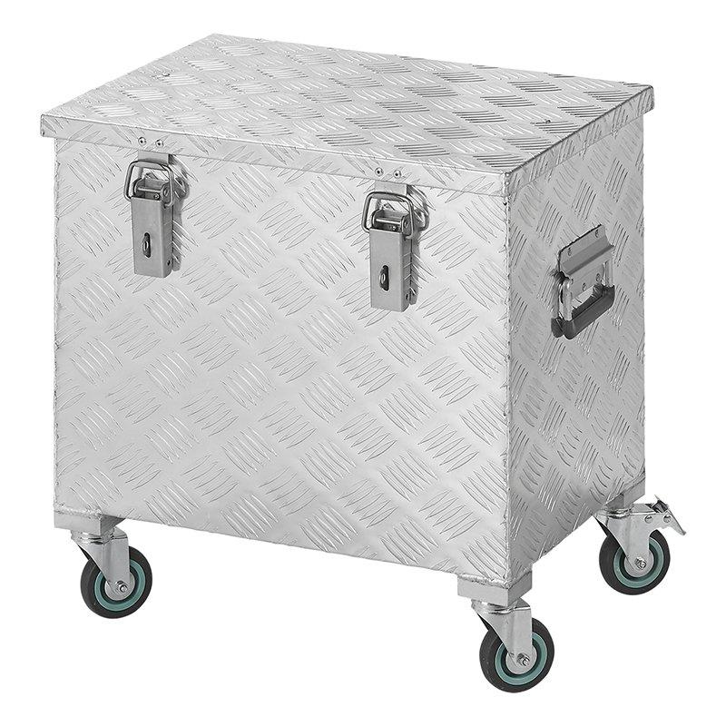 Aufbewahrungsbox Aluminium 522 x 375 x H420mm