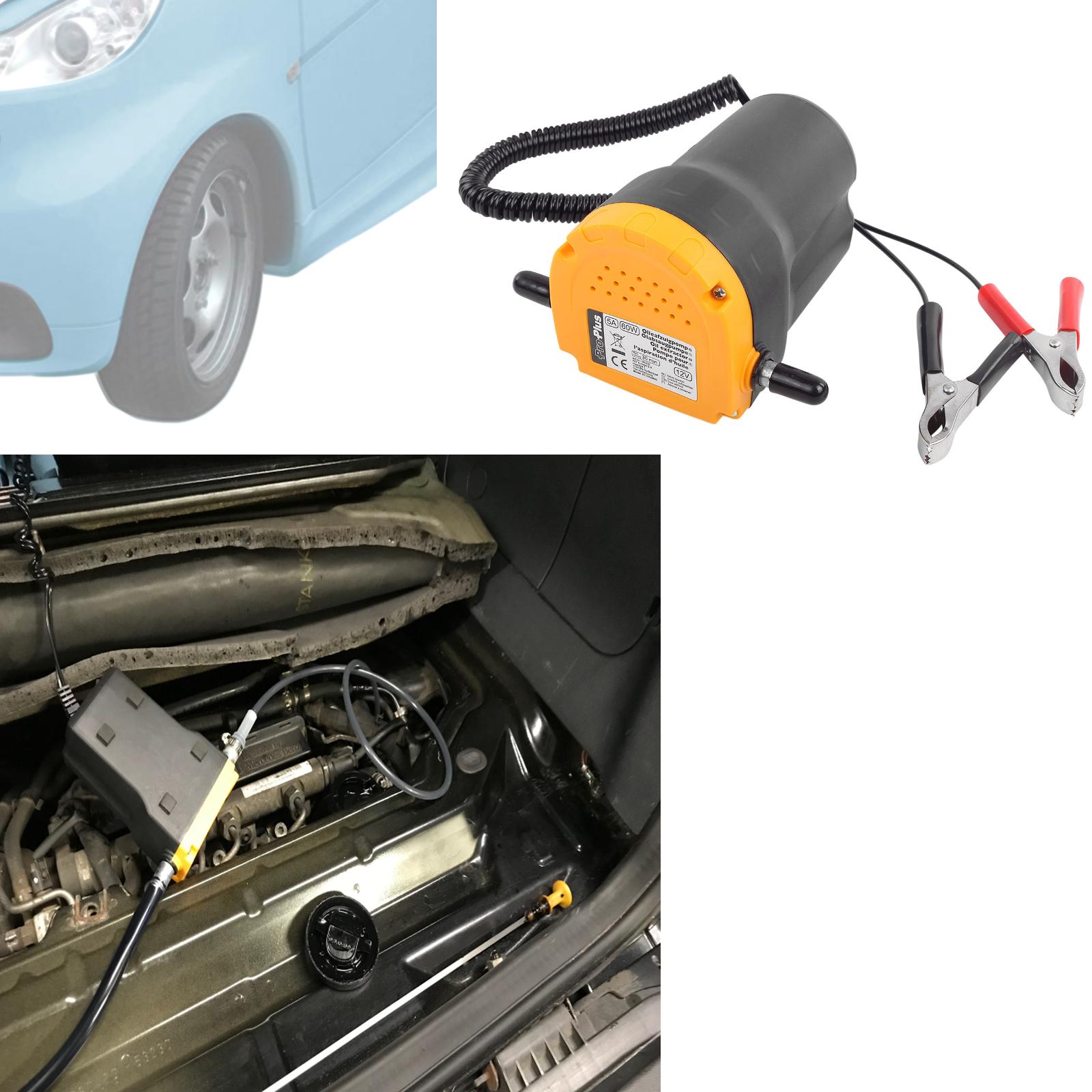 Ölpumpe 12 Volt 60 Watt Messinglamellen für Smart 450,451,452 Fortwo