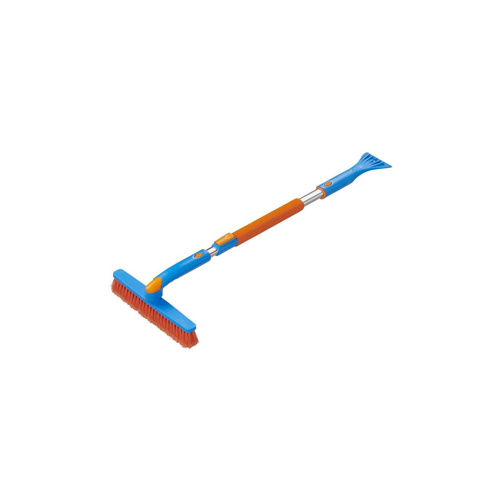 Schneebürste Eiskratzer| XXL Version | teleskopierbar | 99-127cm | weiche Borsten