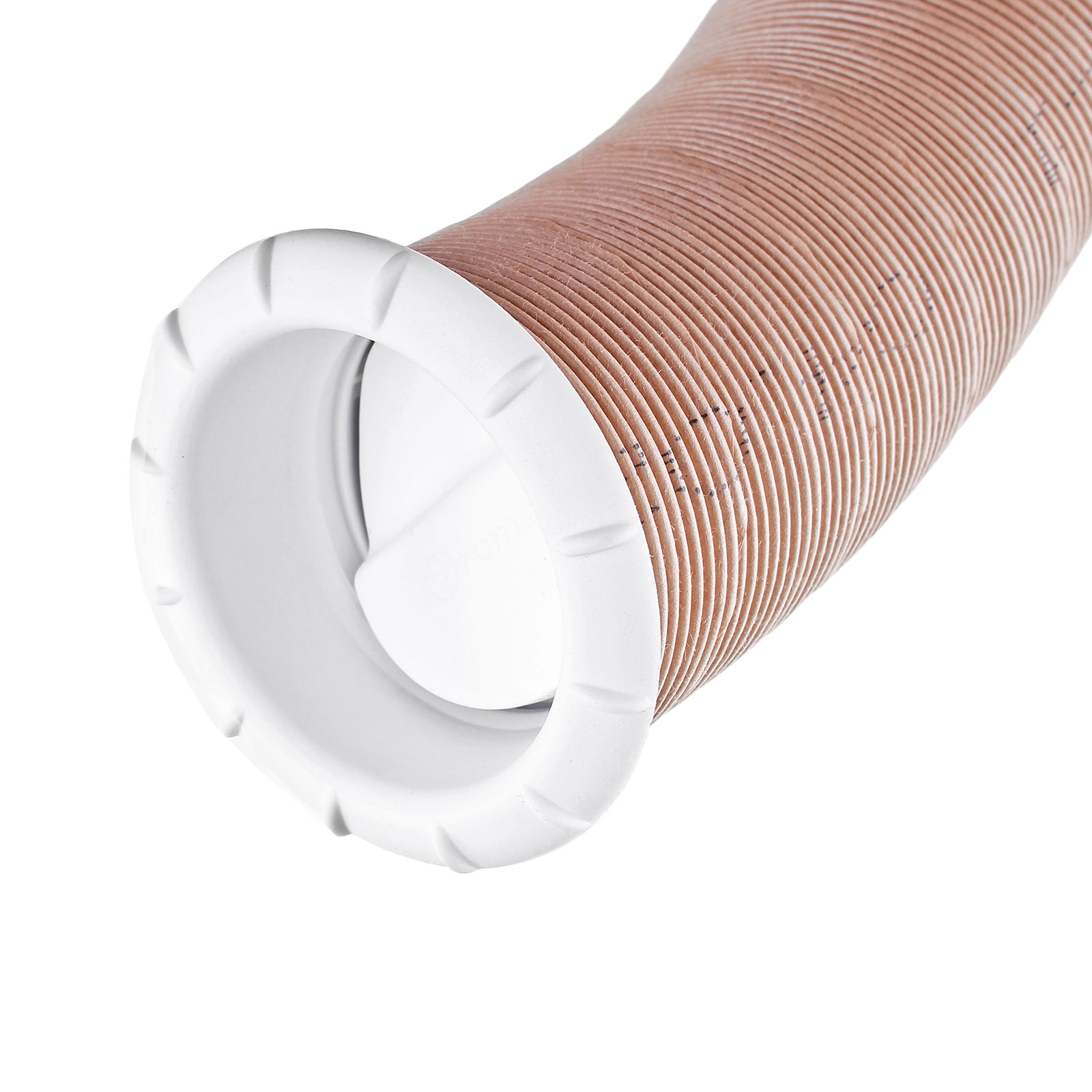 Endstück Warmluftaustritt Weiß Truma für 65mm Warmluftrohre verschließbar