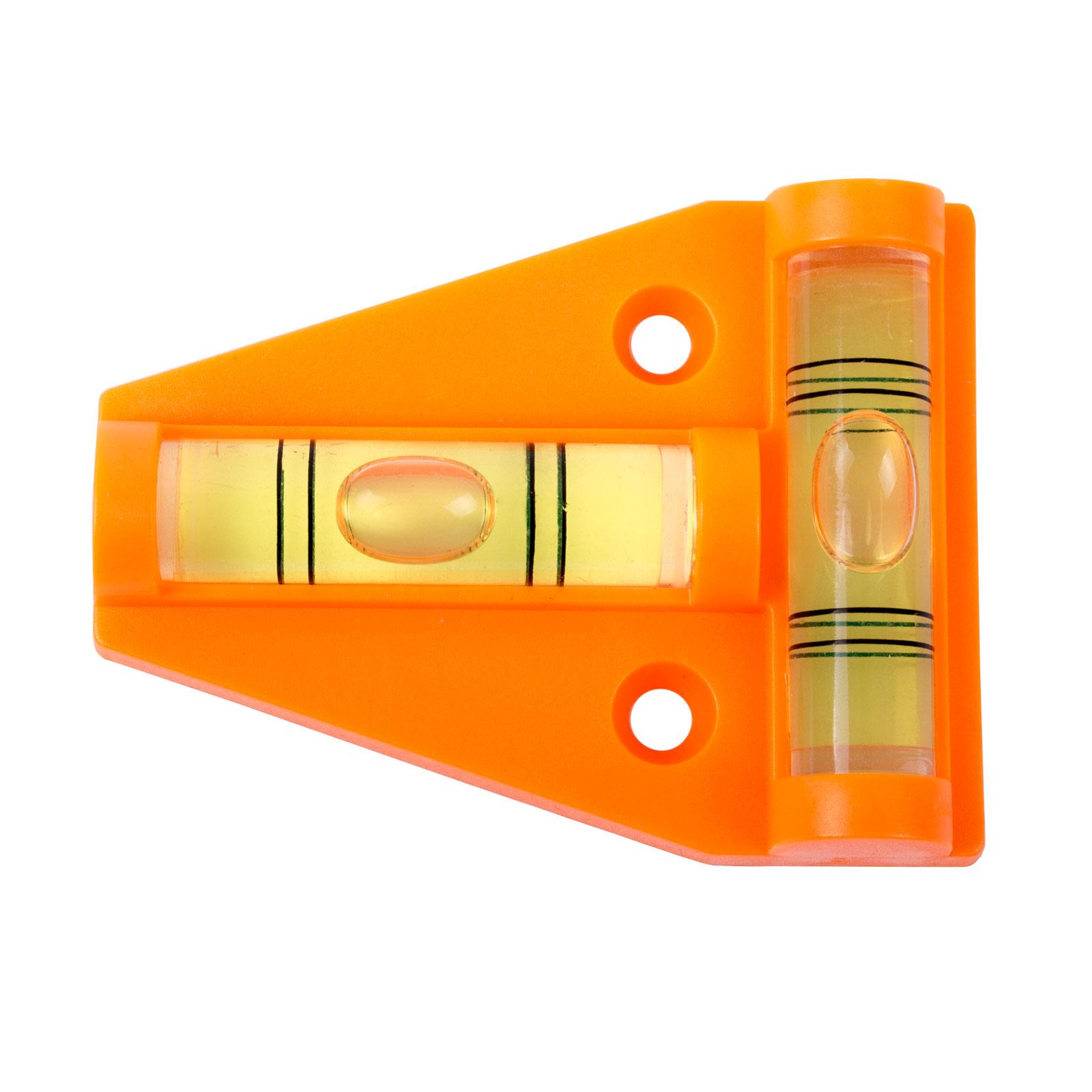 Stützplatten inkl Akkuschrauberaufsatz 440 mm und Kreuzwasserwaage