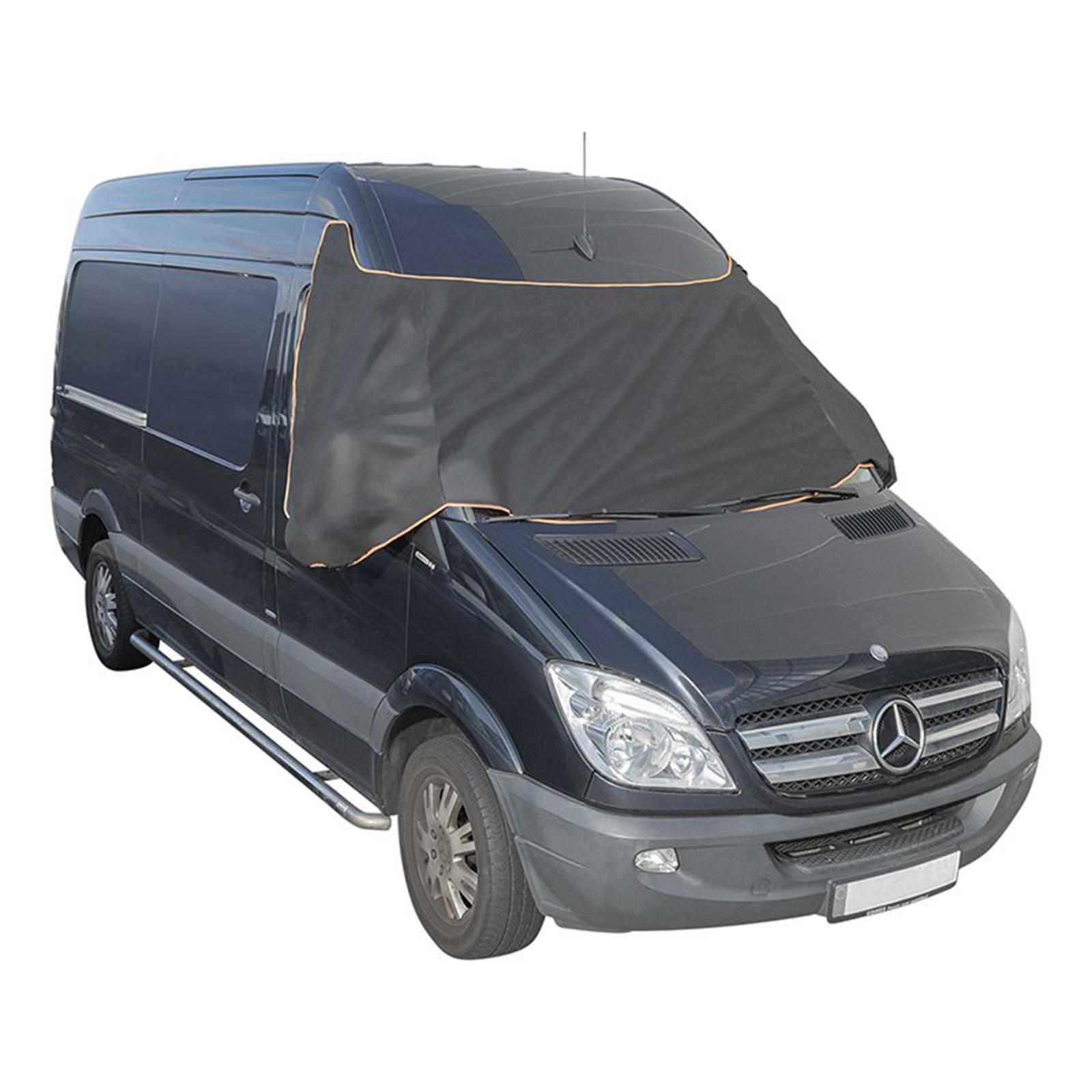 Scheibenabdeckung XXL Magnet Auto Frontscheibenabdeckung Transporter Halbgarage