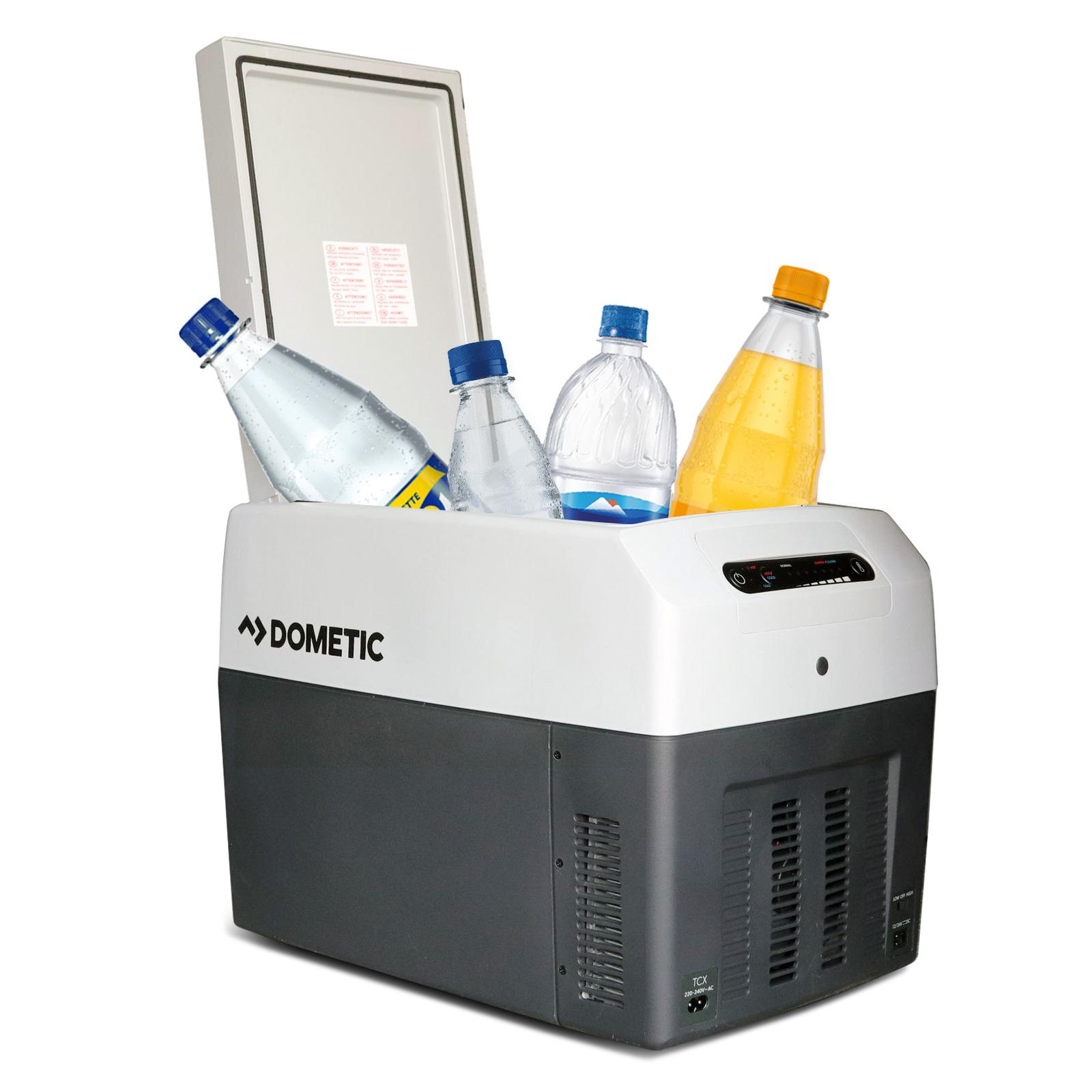 Waeco / Dometic TropiCool TCX14 Kühl und Wärmebox 14l Grau 12/24/220 V