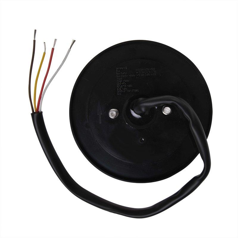 Rückleuchte 12/24V 4 Funktionen 125mm LED