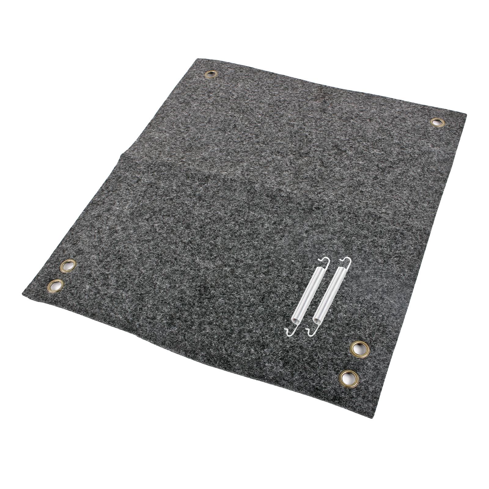 Fußmatte für Trittstufen Fußmatte, 41x36 cm, grau