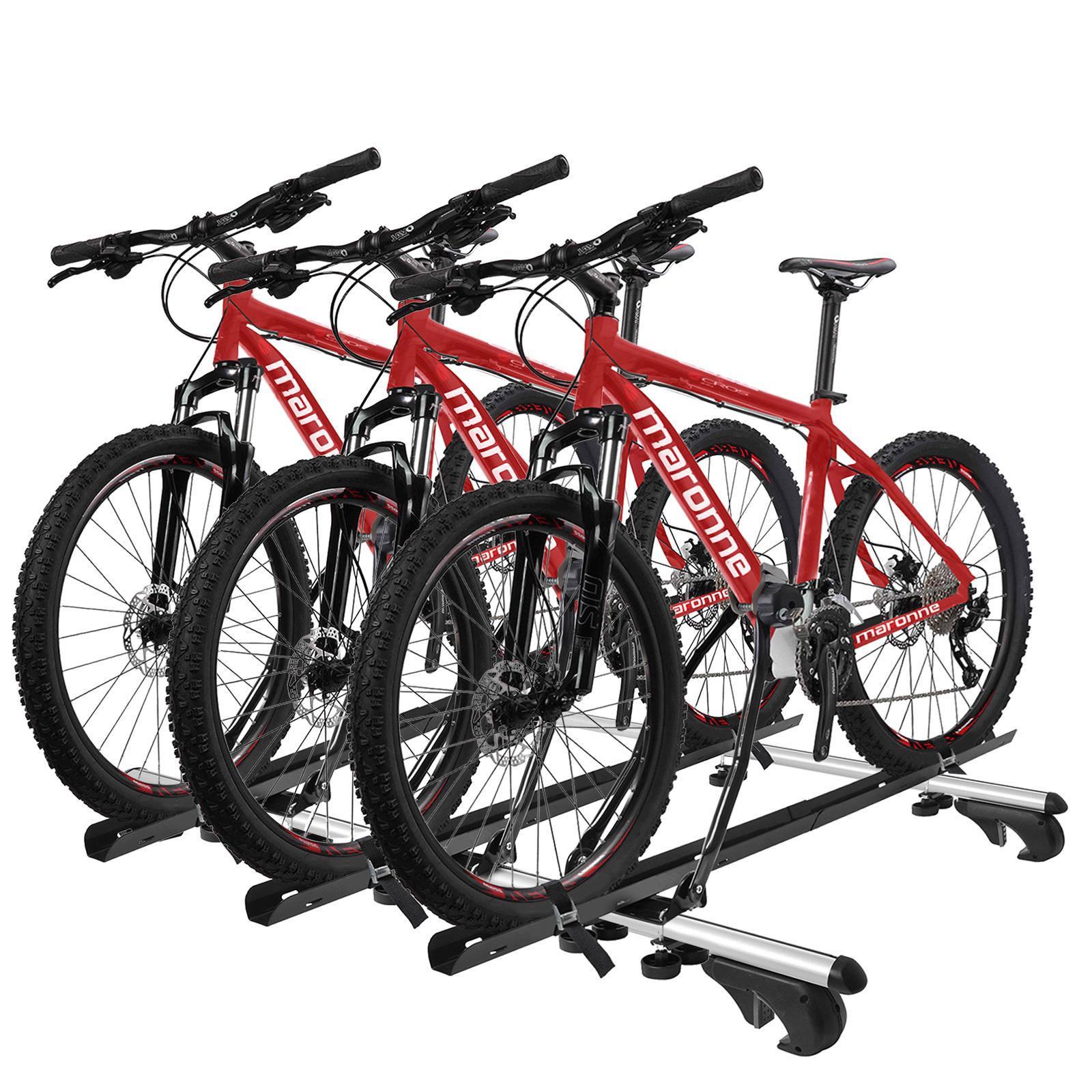 3x Fahrradträger Dachträger mit Rahmenbefestigung abschließbar inkl Befestigung