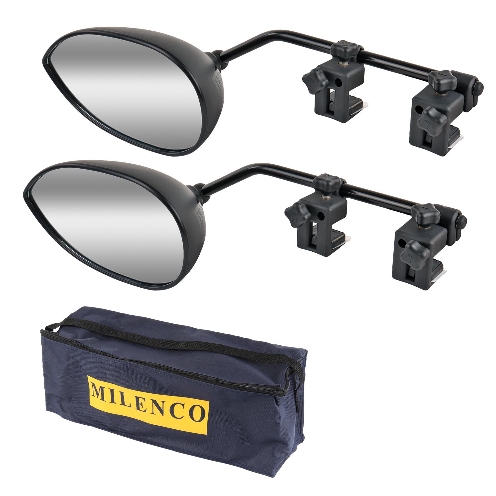 Wohnwagenspiegel Milenco Aero  3 universal 2er Set links + rechts für Auto, Bus
