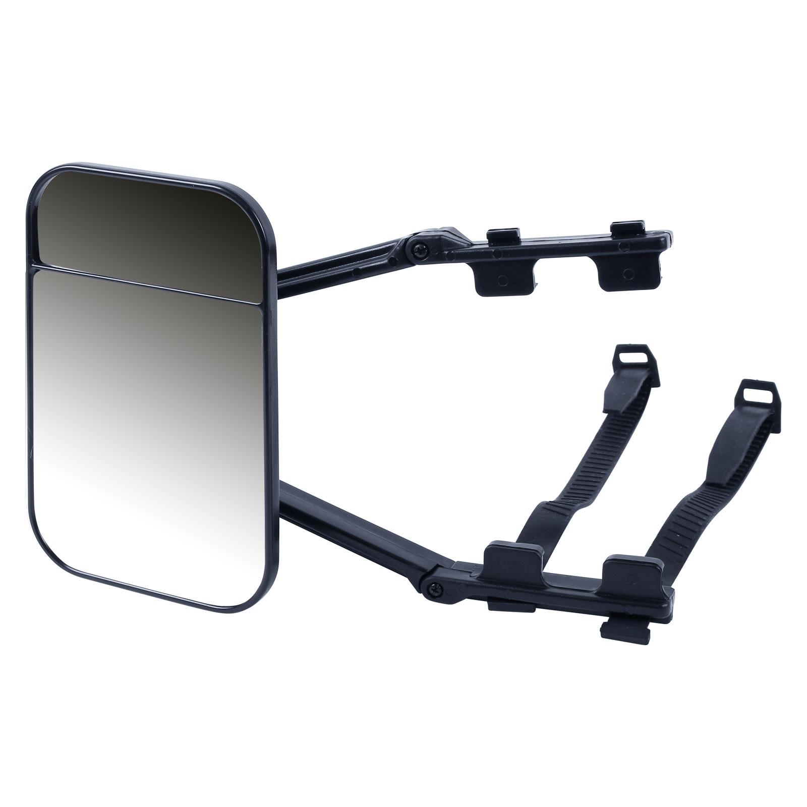 Wohnwagenspiegel Erweiterung E geprüft, konvex, universell, schwarz