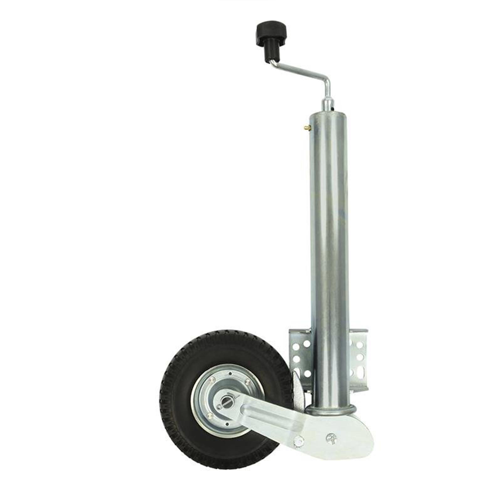 Stützrad Automatik | 400KG | 60mm | Pu-Reifen | mit Anschraubplatte | Bugrad
