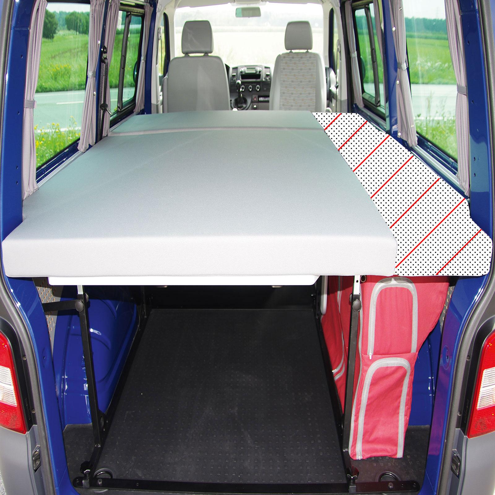 VW T5 Bike & Surf Maxi-Bett zum Nachrüsten 198x125 cm höhenverstellbar