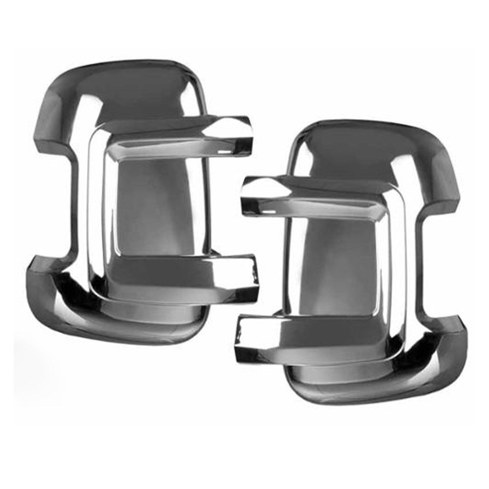 Carbest Spiegelprotektoren-Set chrom/lange Version - Fiat Ducato, Citroen Jumper