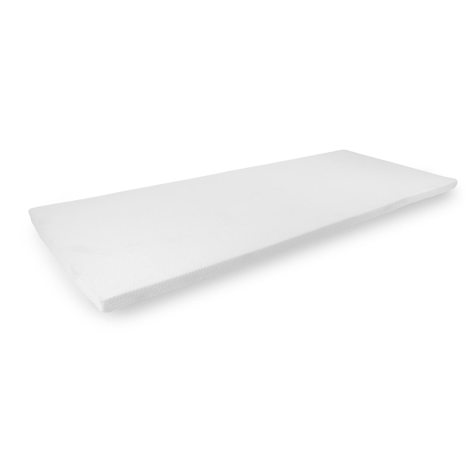 Gel Matratzentopper | Memory Schaum  | Antirutsch - Effekt | 195 x 80 x 4 cm