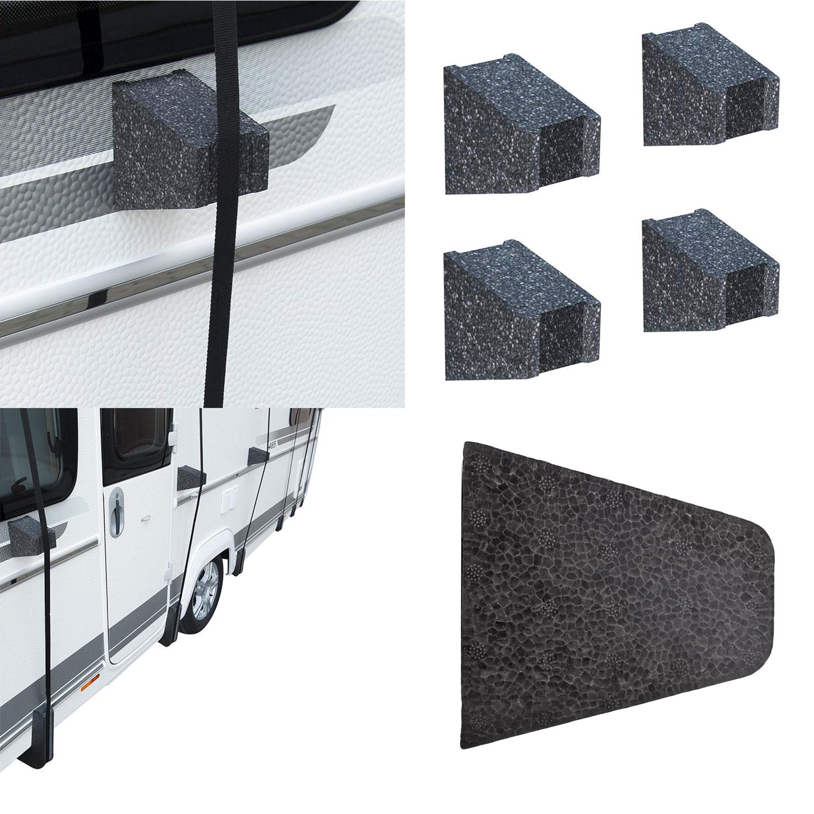 4 x Abstandshalter für Wohnwagen, Wohnmobil Schutzdächer Spezial Styropor 12,5cm