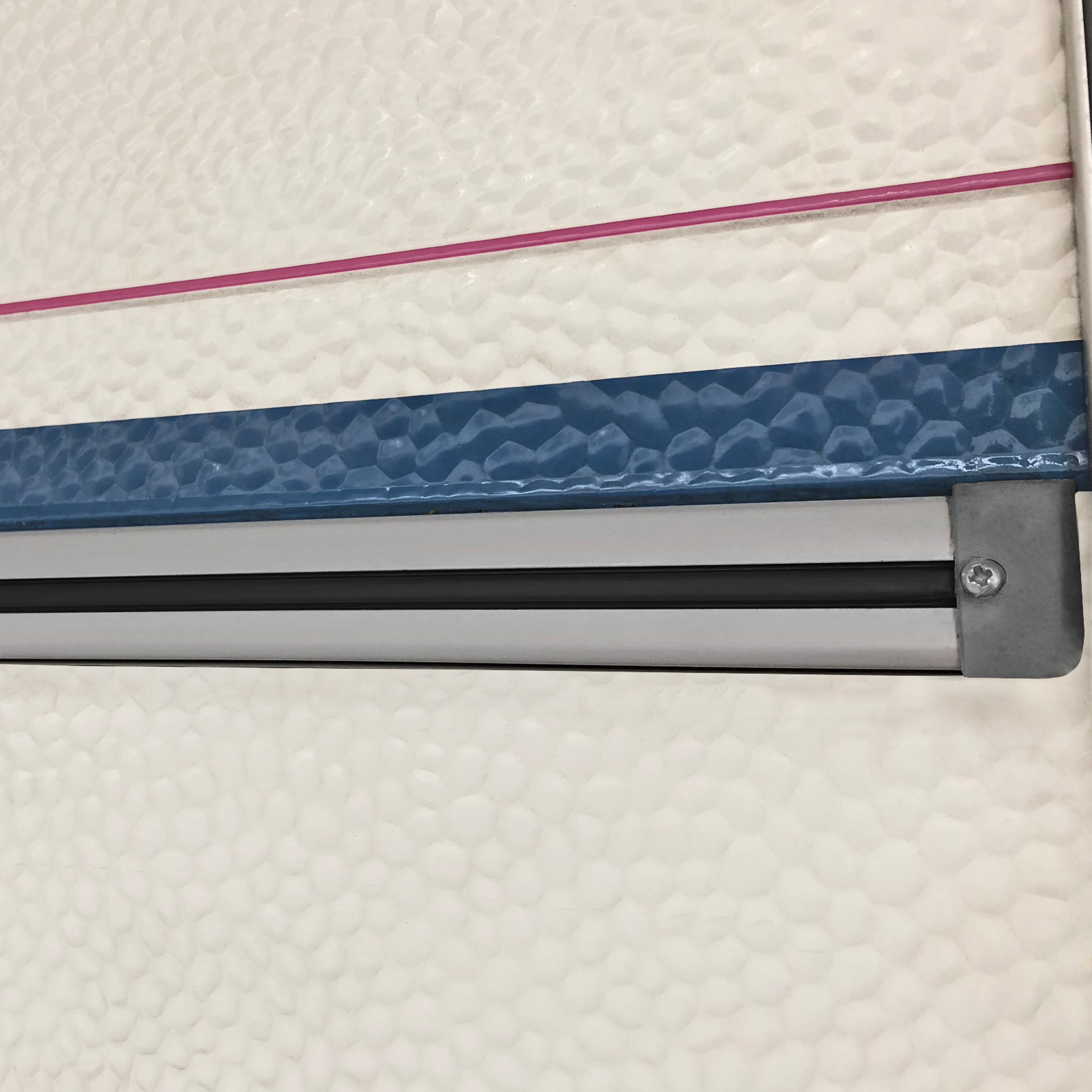 60 Meter (6x10 m) Kederband 12 mm schwarz Kunststoff Leistenfüller