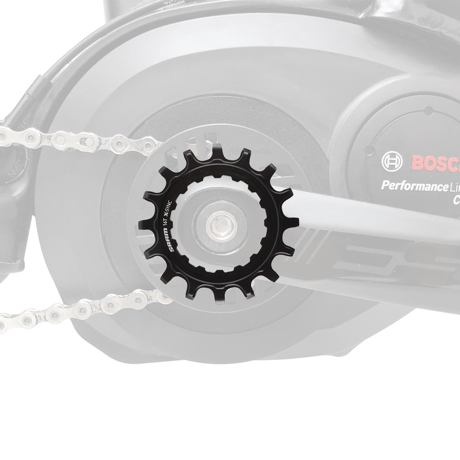 SRAM Kettenblatt 16T EX1 X-Sync™ für Bosch Mittelmotor eBike