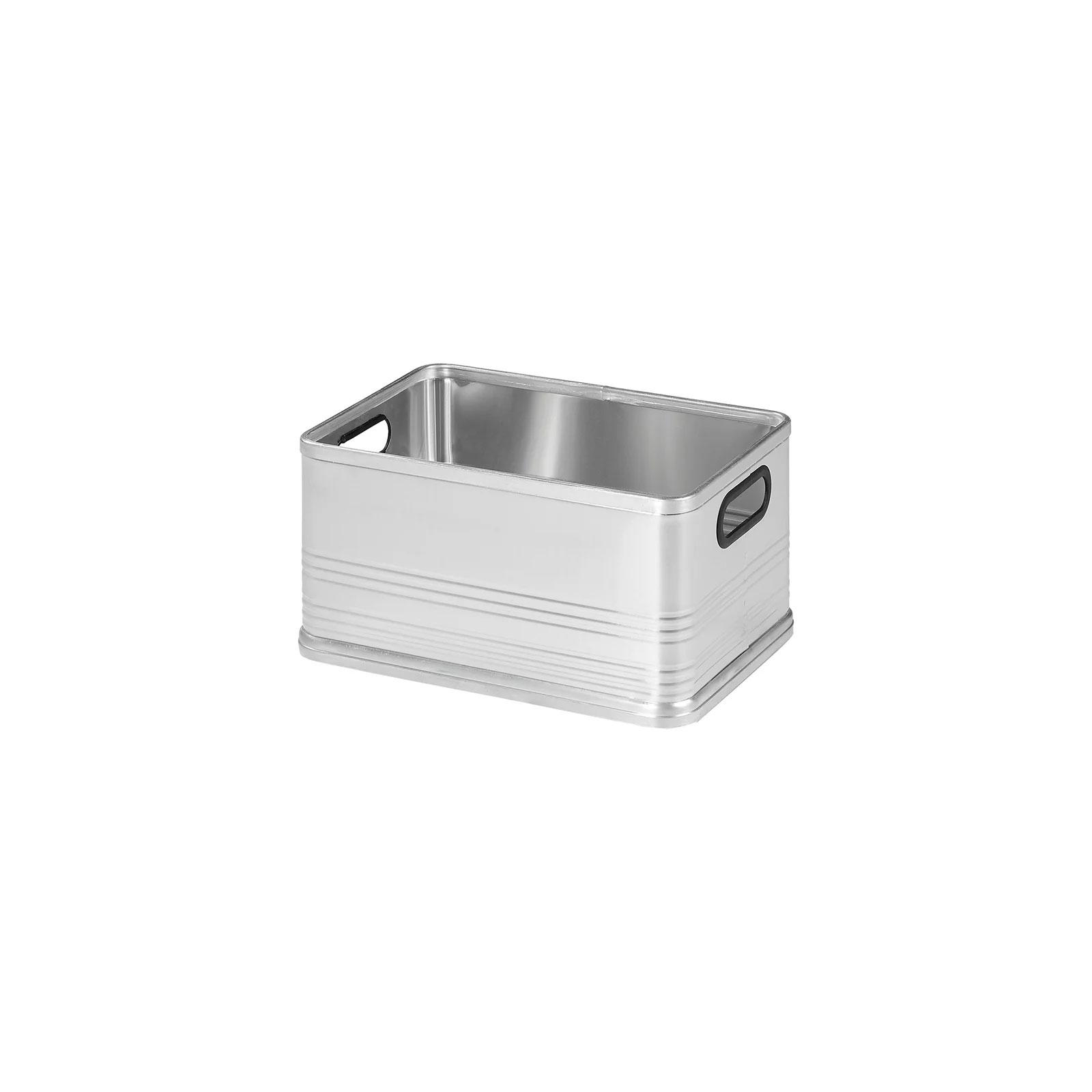 Transportbox Aluminiumbox 30 l Werkezugkiste Stauraum + Aufbewahrung