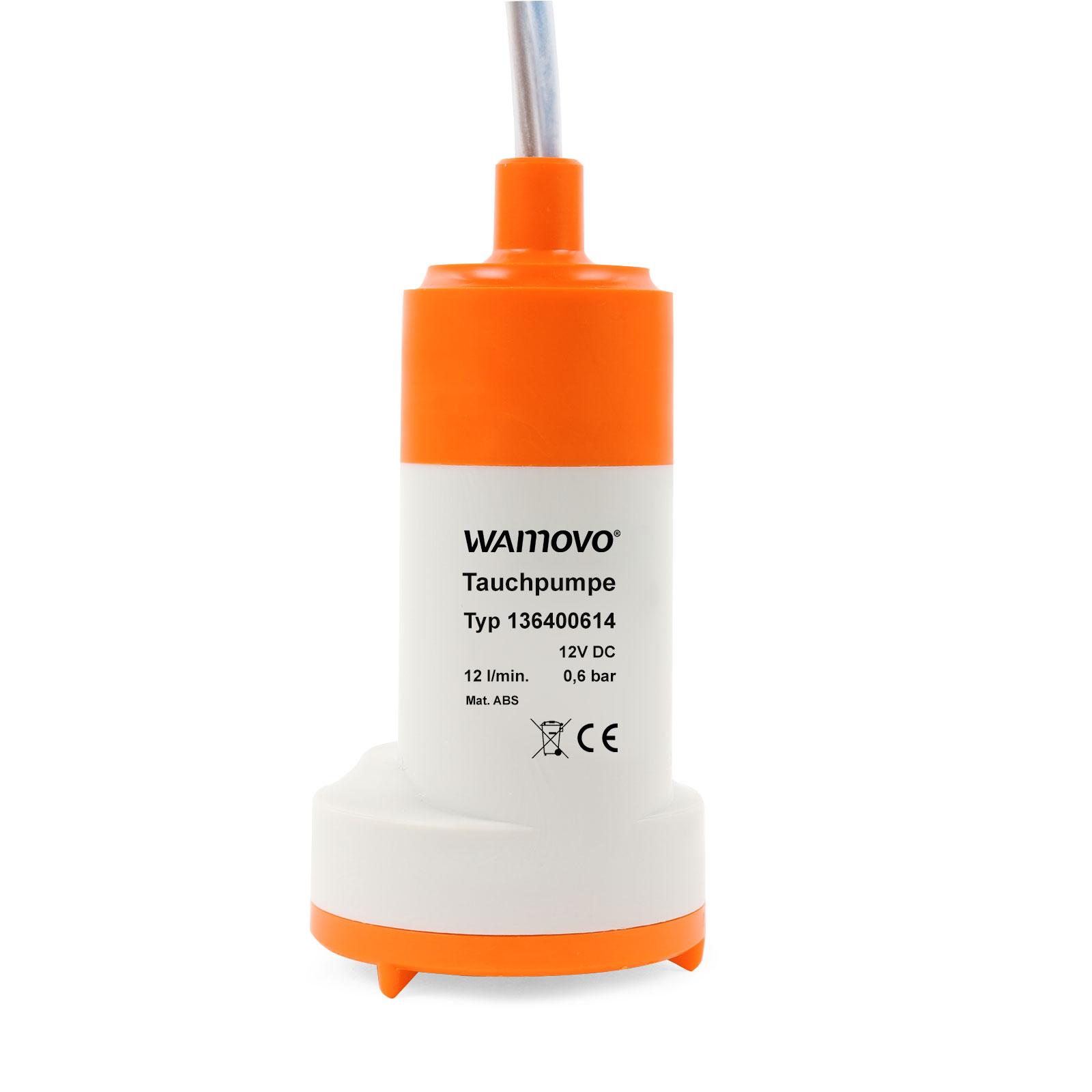 Tauchpumpe 12v 0,6 bar 12 Ltr pro Minute 18-24 Watt Pumpe