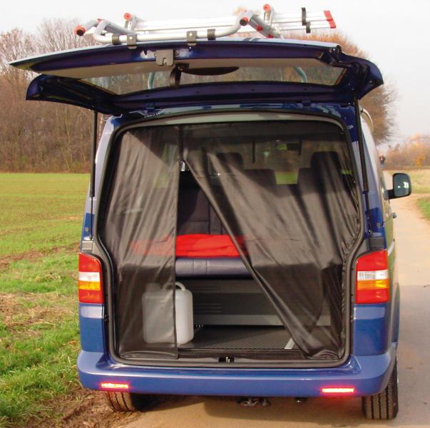 Moskitonetz Mückennetz Heckklappe passend für VW T5, T6 ab Bj.2003
