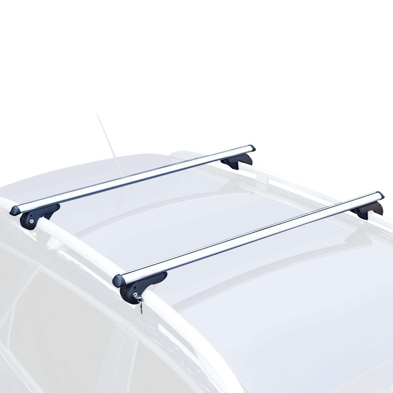 Dachträger Grundträger für Dachrehling universal 120cm Alu max. 90 kg