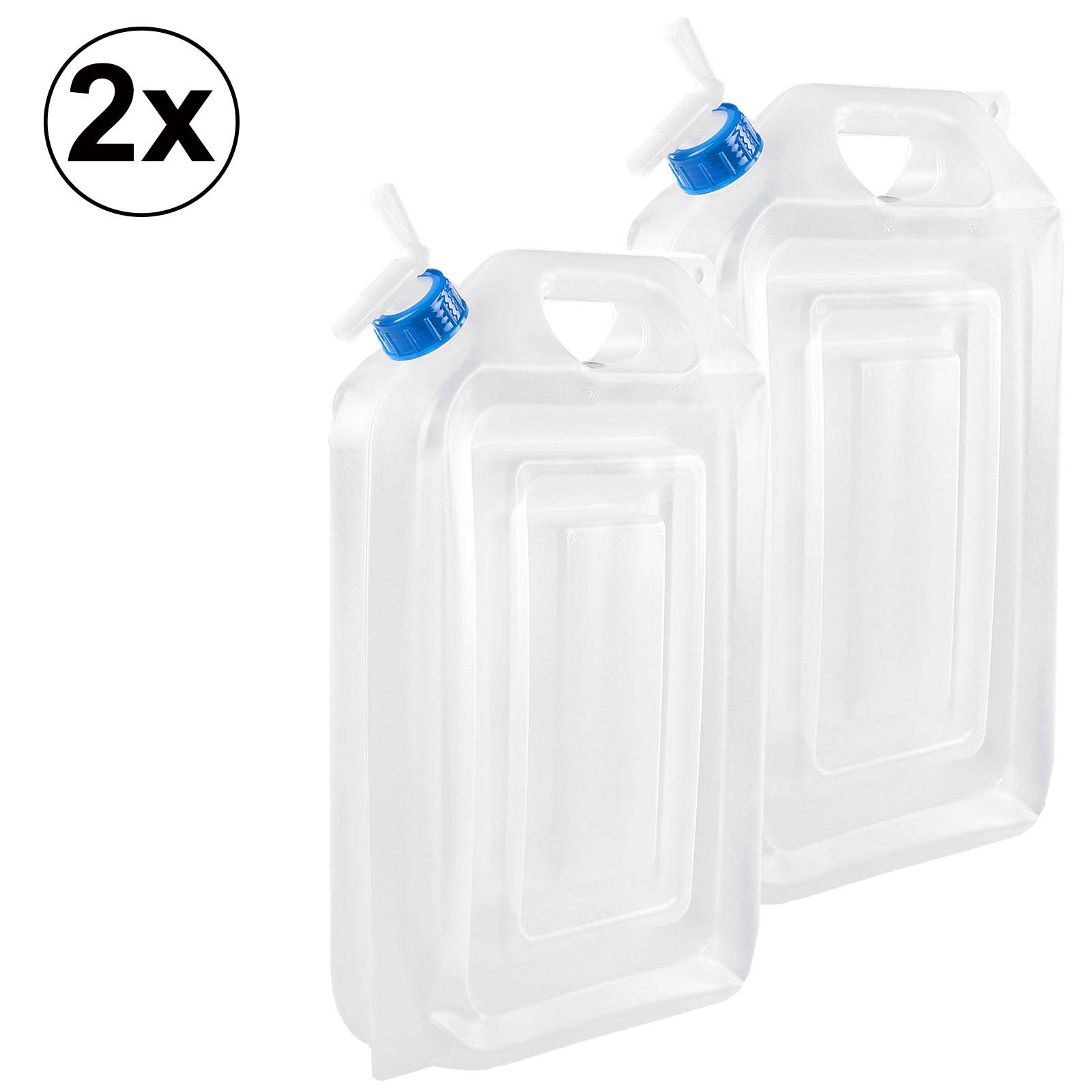Kanister 16 Liter extra platzsparend 2er Set