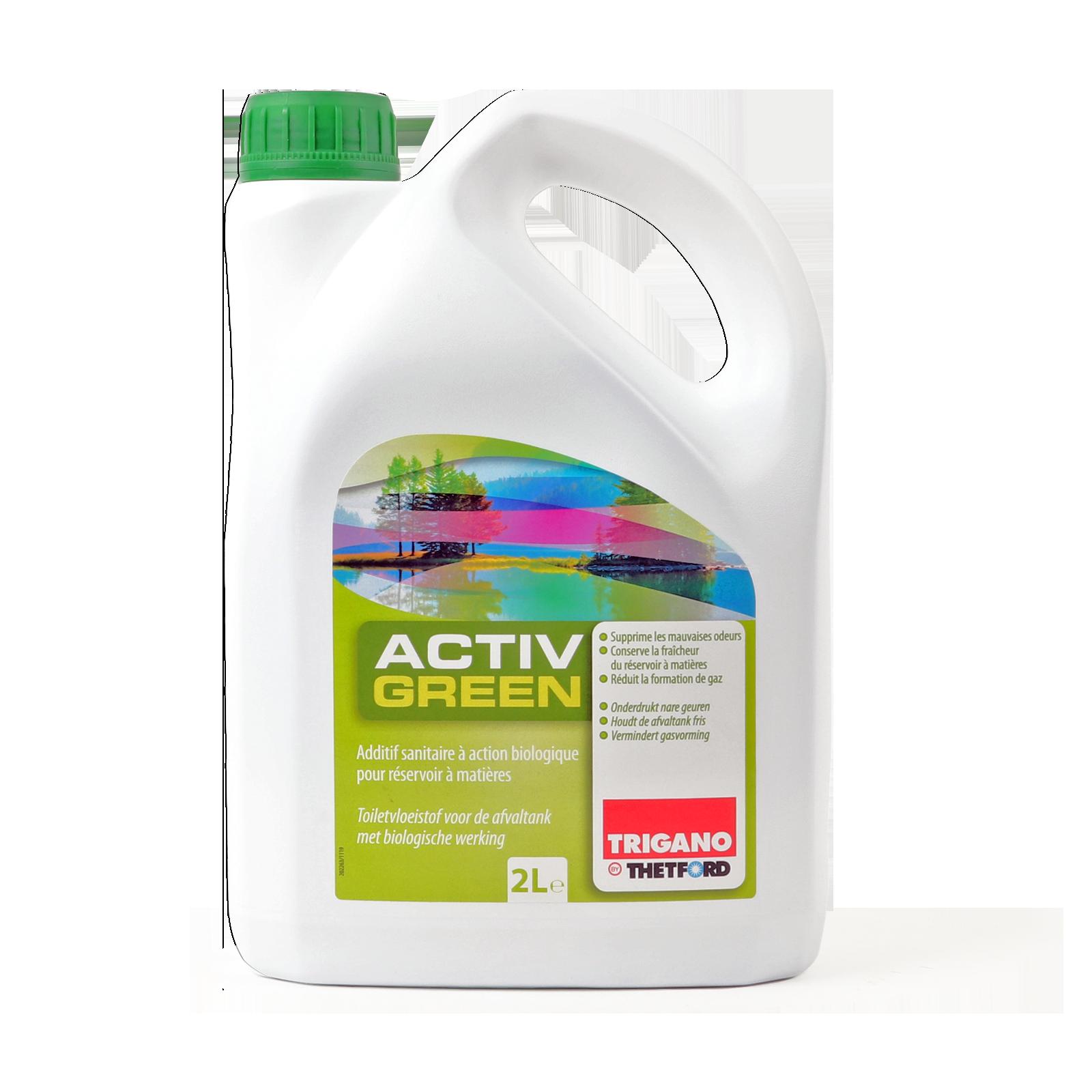 Thetford Activ Green Toiletten Zusatz Abwasserbehälter 2Ltr biologisch abbaubar