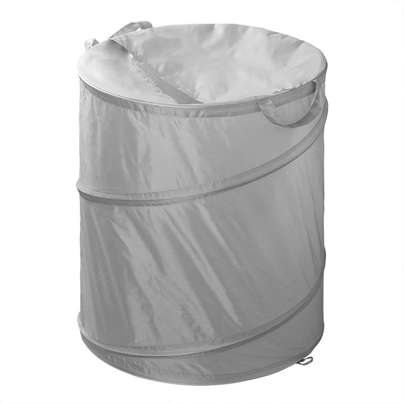 Faltbarer Wäschekorb | 51cm | Ø 45cm | Wäschesack | Wäschetonne | für Camping
