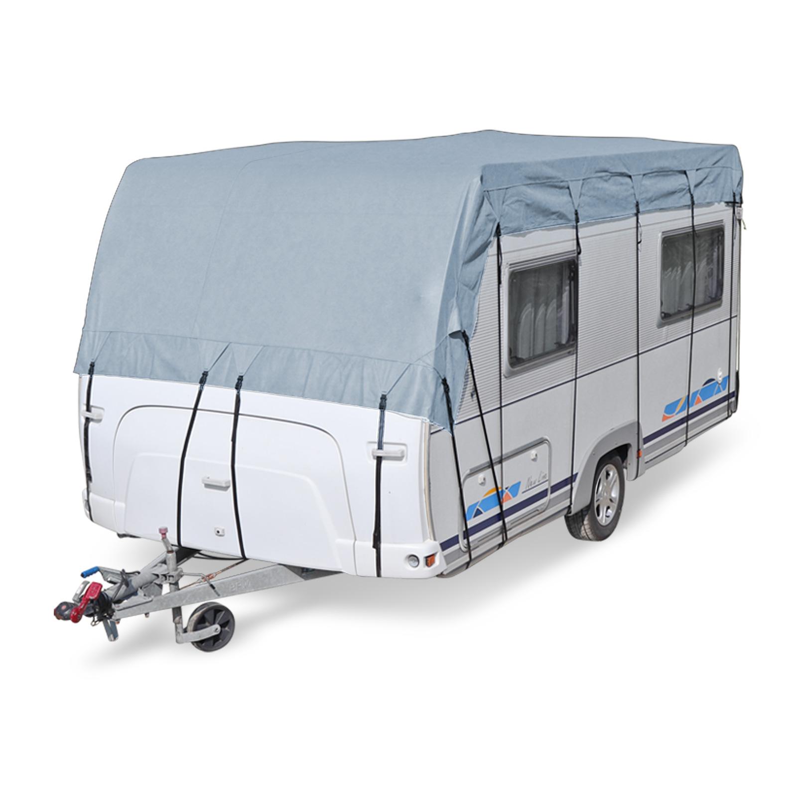 Wohnwagen Wohnmobil Reisemobil Schutzdach Dachschutzplane Schutzhülle 8x3 m