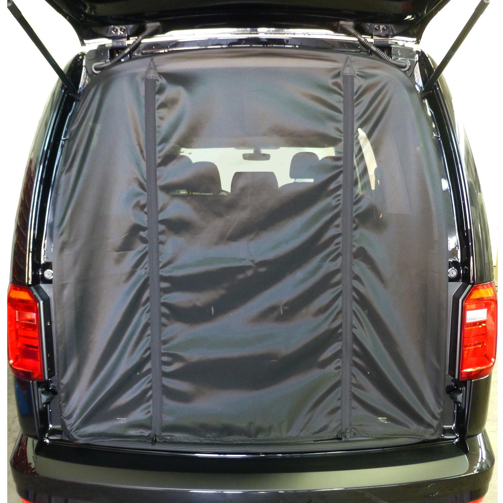 Moskitonetz Heckklappe | passend für VW Caddy | KR ab 2003, LR ab 2008