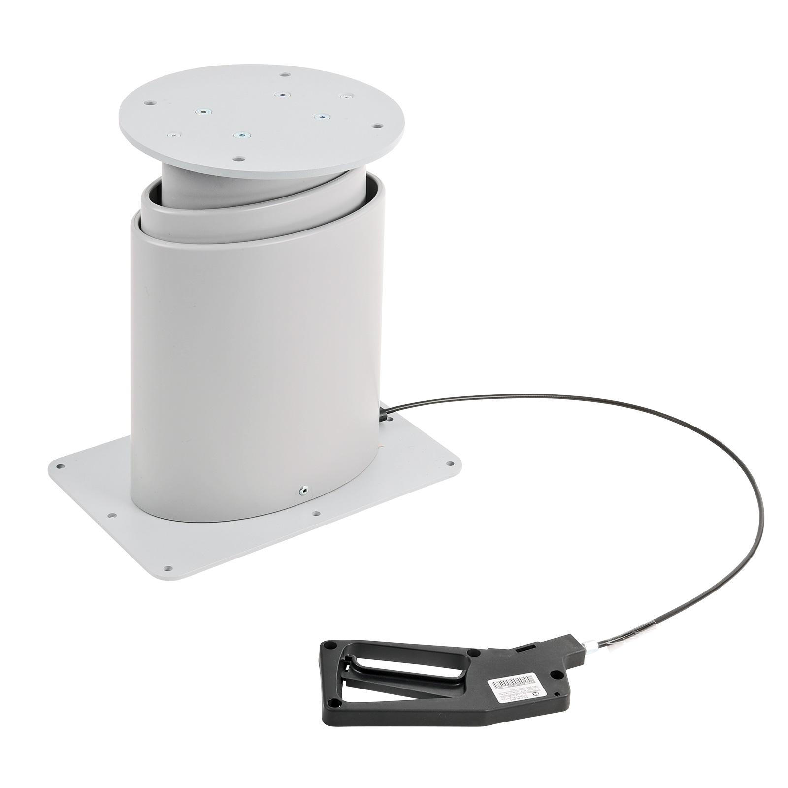 Einsäulen Hubtisch | stufenlos | höheneinstellbar | 310-670mm | Schlafnutzung