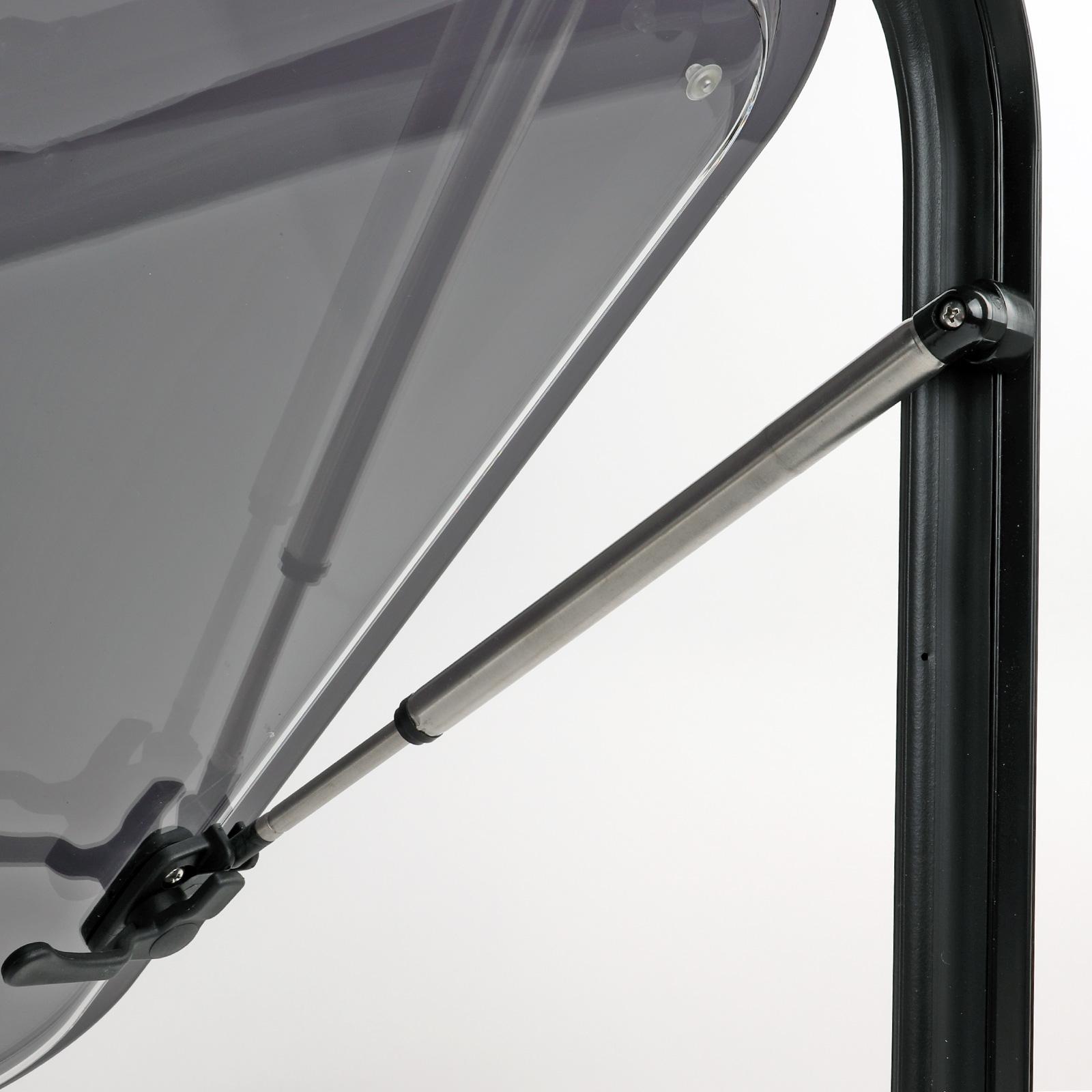 Ausstellfenster für gewölbte Kastenwagen-Wände, 490x500, wamovo